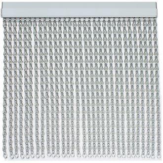 Cortina cadena aluminio materiales de construcci n para - Cortinas para puertas de aluminio ...