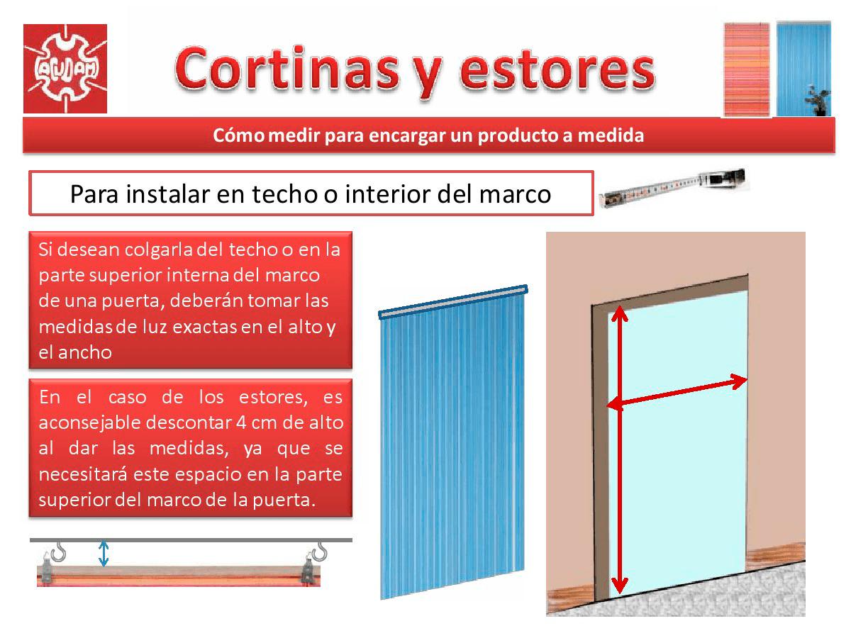 Medir e instalar cortinas y estores - acudam
